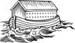 Leinwanddruck Bild - Noahs Ark