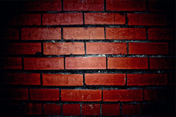 Texture of brick wall for background.classic brick wall pattern
