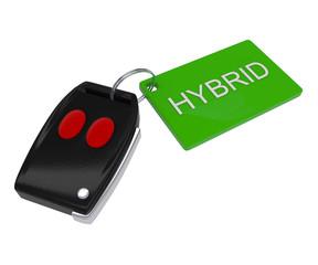 Green - Hybrid Car Key