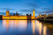 Big Ben and the Palace of Westminster, London, UK