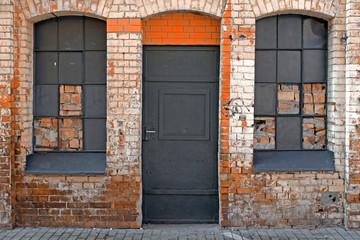 Ziegelstein Fassade