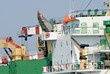 crane and ship