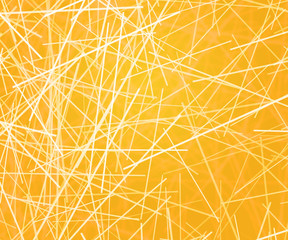 Yellow Abstract Lines Texture