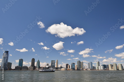 New Jersey over Hudson river