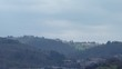 spring time rural landscape in Florence, Italy