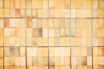 Vintage decorative ceramic tile wall background