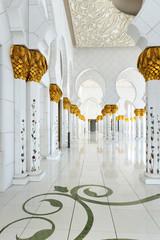 Abu-Dhabi. Sheikh Zayed mosque