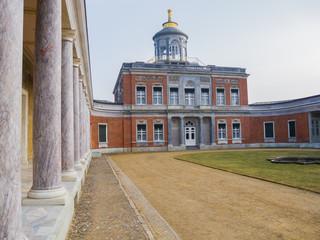 Marmorpalais Potsdam with pillars
