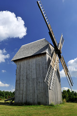 architecture, country, energy, heritage, poland, windmil