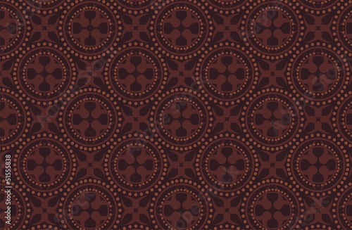 dark brown batik pattern