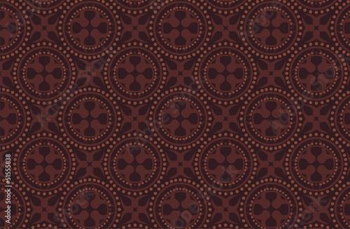 dark brown batik pattern