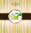 Colorful Tea background
