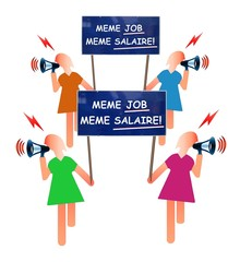 Inégalités salariales hommes/femmes