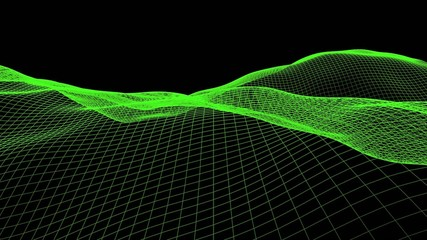 3d moving grid loop