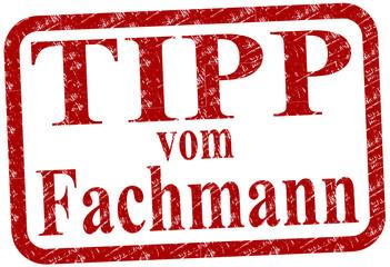 Fachmann Tipp Stempel  #130418-svg05