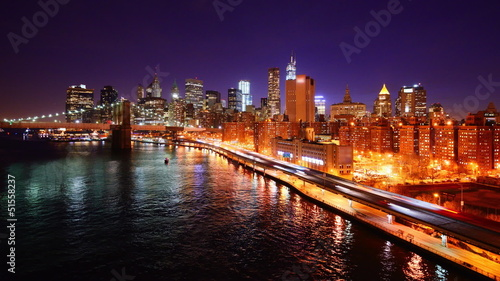 New York City Lower Manhattan Time Lapse