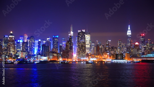 Midtown Manhattan Time Lapse from across the Hudson River