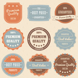 Set of vintage high premium quality badges and labels.