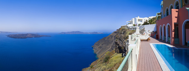 Santorini panorama - Greece