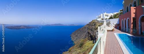 Santorini panorama - Greece