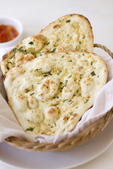 Garlic Naan Flatbread
