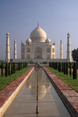 Taj Mahal shrine in Agra, India