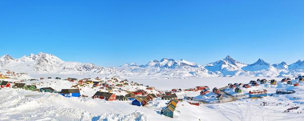 Tasiilaq panorama