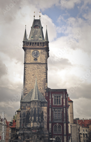 tower in Prague