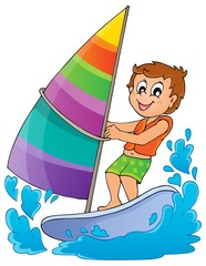 Water sport theme image 1