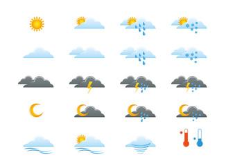 Picto icône météo