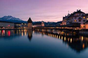 Luzern abends