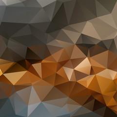 Geometric triangular mosaics background