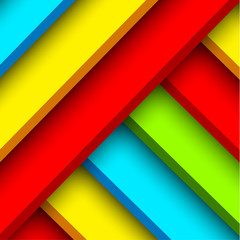 Abstract color block background