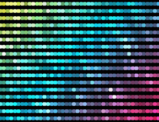 Abstract mosaic neon background_5