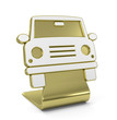 """Car"" Golden Icon"