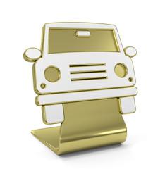 """""""Car"""" Golden Icon"""