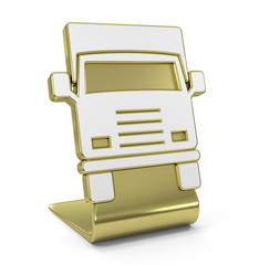 """Truck"" Golden Icon"