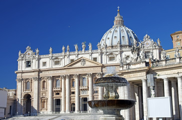 Saint Peter Basilica (square view)