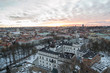 Vilnius city. The view from Upper Castle.