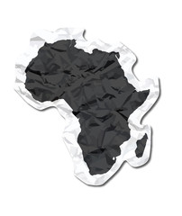 Africa paper tag