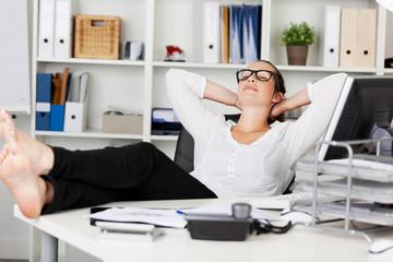 entspannung im büro