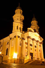 Cathedral Ruthenian Catholic Church in Uzhhorod City