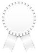 Award Badge White