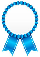 Award Badge Blue