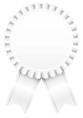 Award Badge White