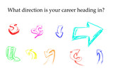 Direction Arrows for Career
