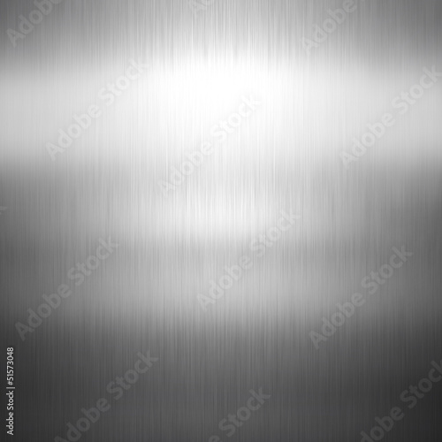 Foto op Canvas Metal Brushed metal