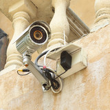 security camera CCTV and box control