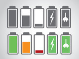 battery icon charge level