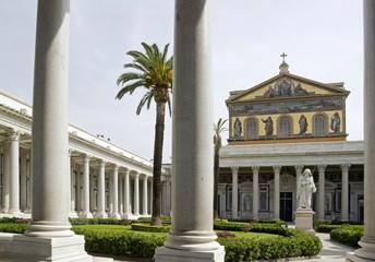 basilique St Paul Hors les murs, Rome Italie